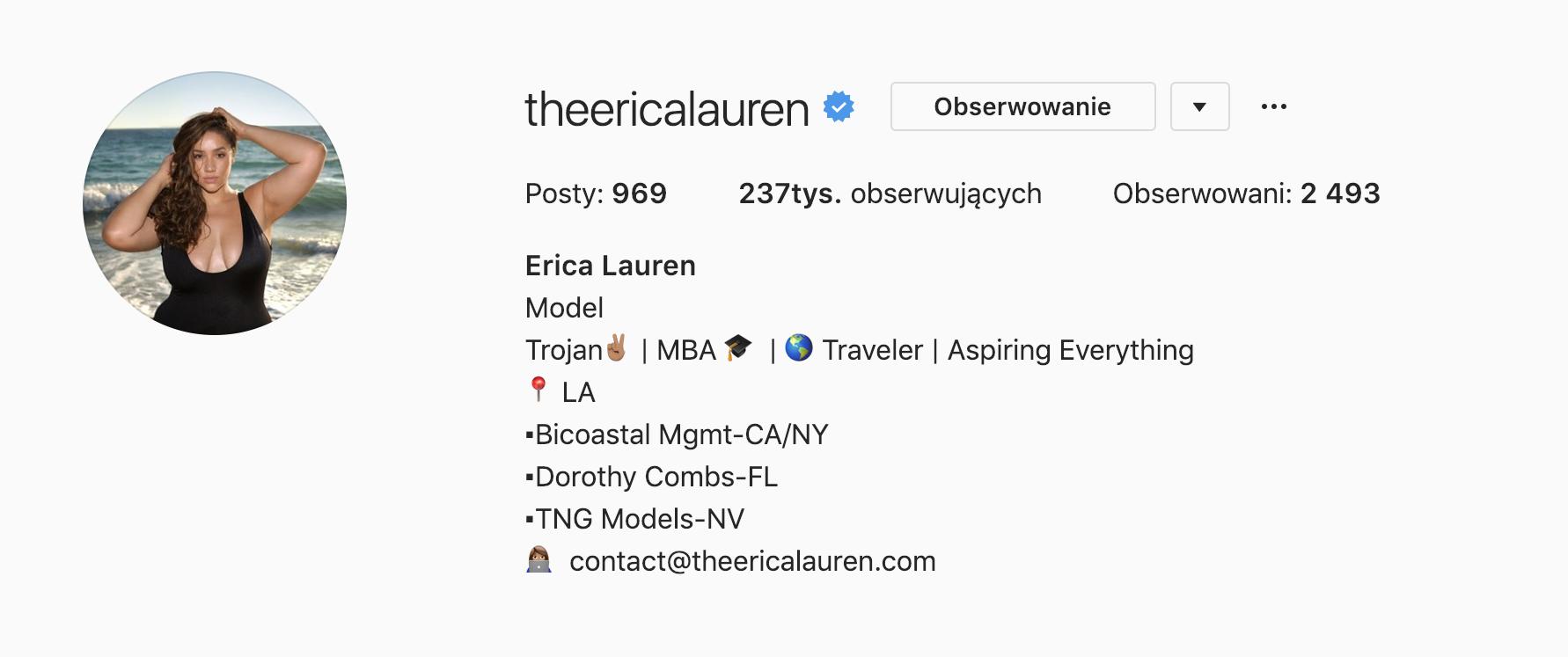 Erica Lauren