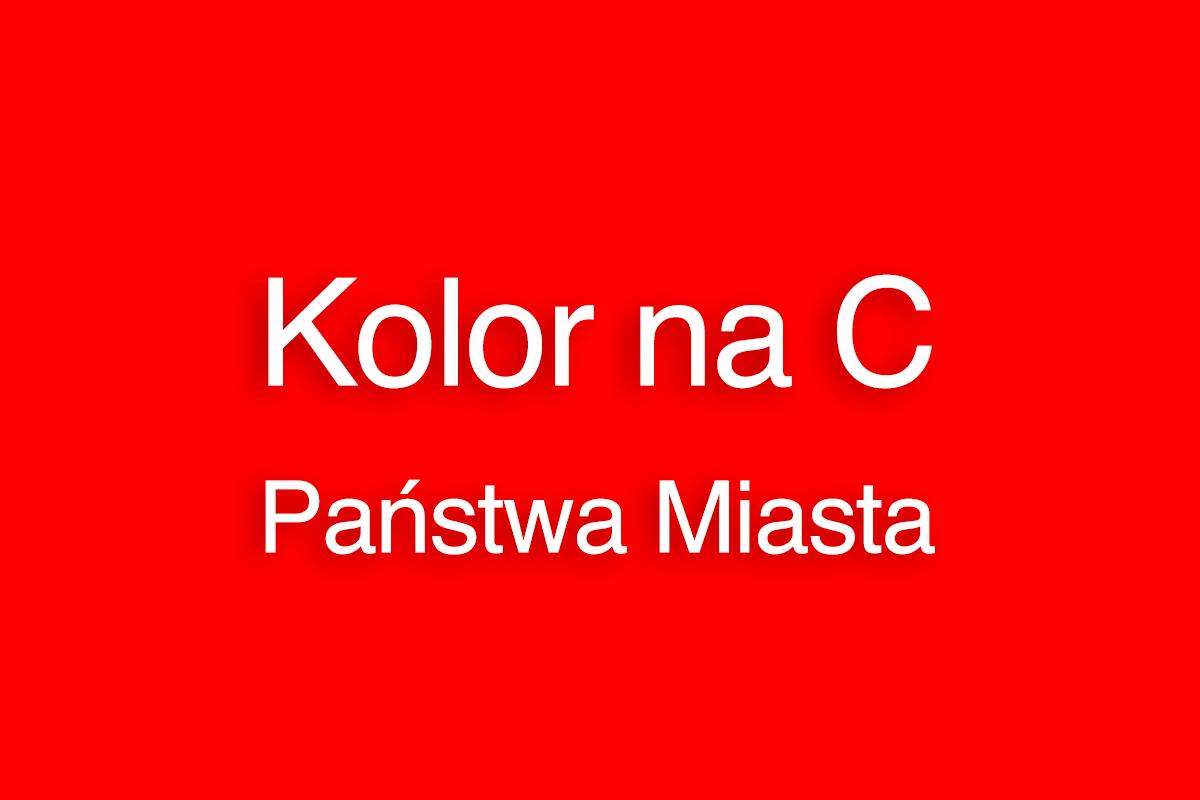 Kolor na C