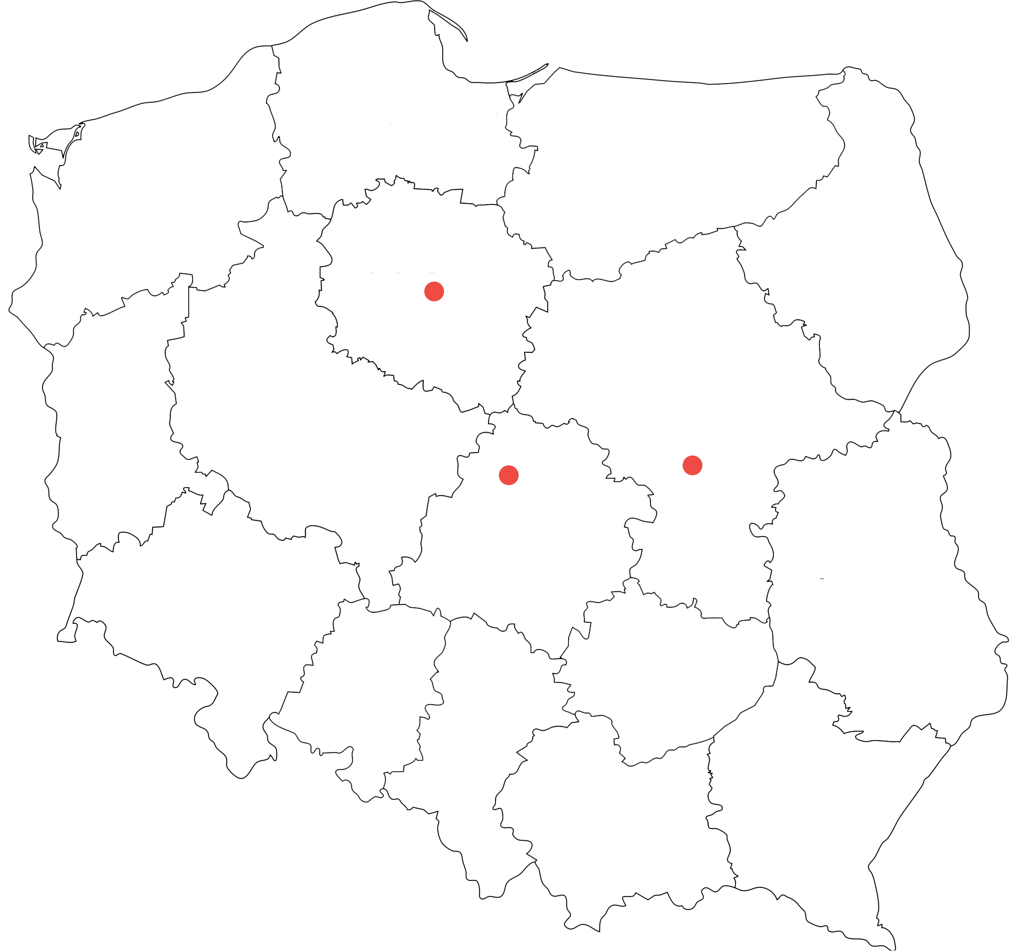 Miasta wojewódzkie