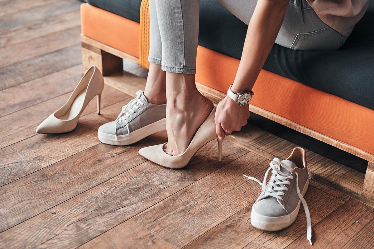 Ilustracja do wkładki do za dużych butów