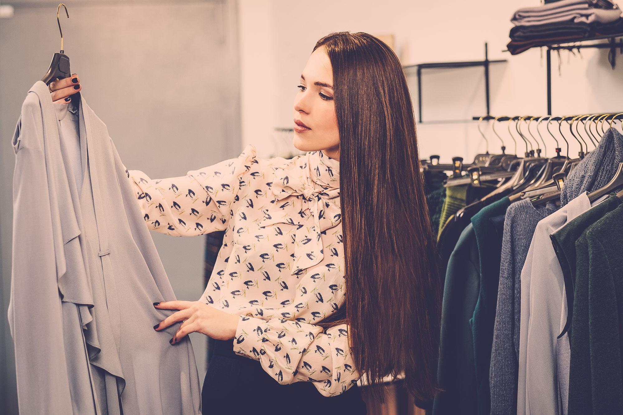 Wybieranie w sklepie