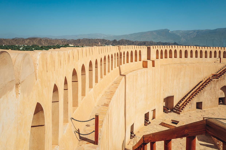 Fort Nizwa w Omanie