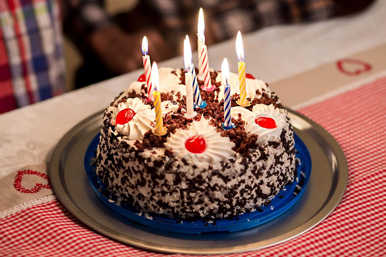 Tort urodzinowy, ilustracja do artykułu