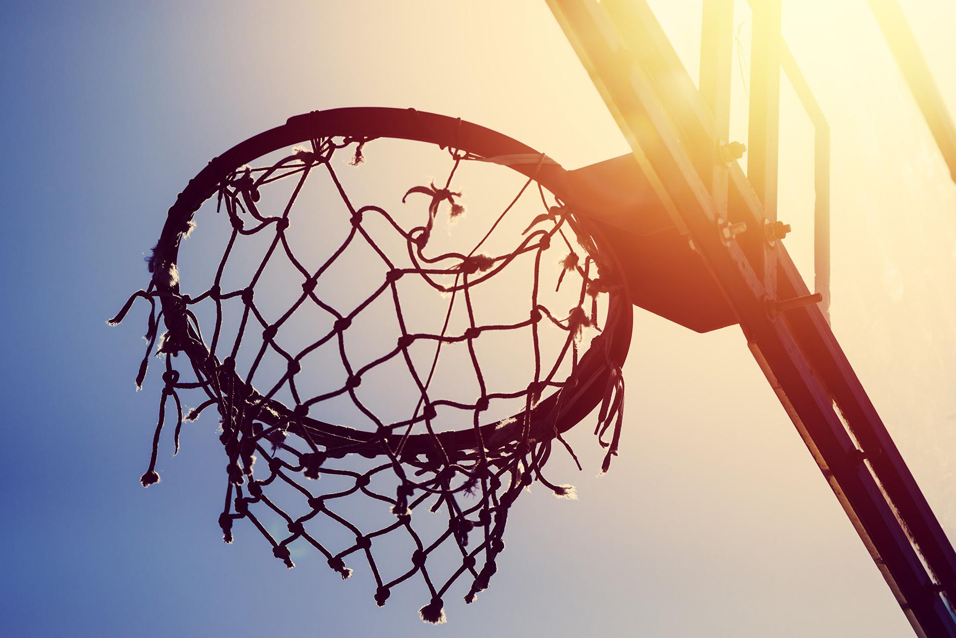 Kosz do koszykówki, ilustracja do atykułu