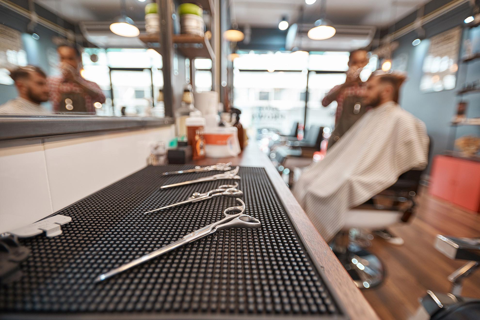 Salon fryzjerski, ilustracja do artykułu o wyborze fryzjera